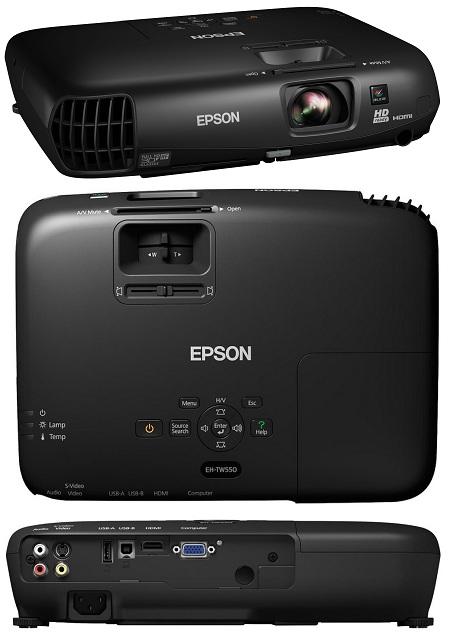 3Д проектор Epson Eh TW550